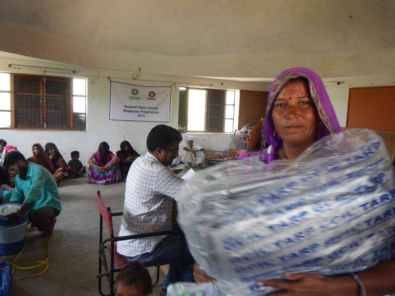 Oxfam providing relief to survivors of Gujarat floods