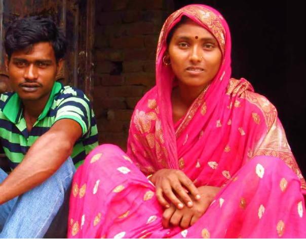 Mehjabi and her husband Bilal