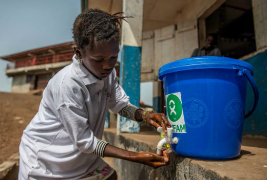 Oxfam: Water sanitation and hygiene