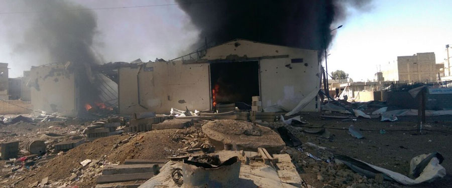 Oxfam condemns coalition bombing of a warehouse containing vital humanitarian aid