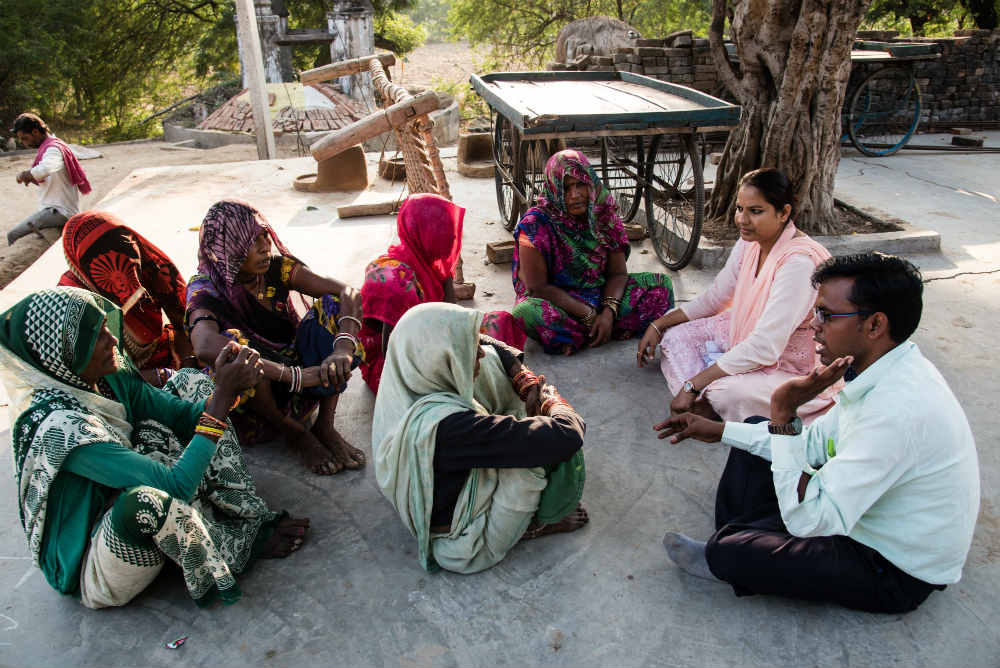 Oxfam India is working on addressing dalit rights in India through their project on social inclusion