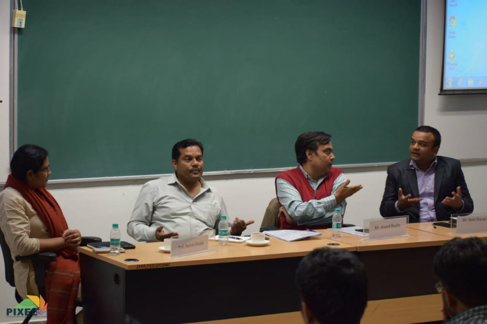 Oxfam India at IIM Raipur, a session on rising inequality in india