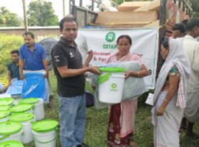 Oxfam India's Response to Natural Disasters