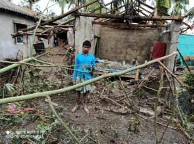 Cyclone Amphan's Trail of Devastation
