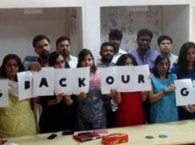Oxfam India pledges its support to #BringBackOurGirls