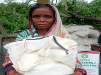 Oxfam India is supporting families in Odisha rebuild their lives.