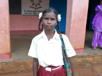Oxfam India supporting Geeta go back to school.
