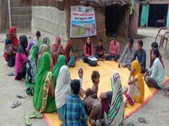 The community involved in water governance in Lakhimpur Kheri