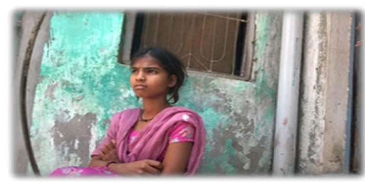 Komal overcame all obstacles to go to school