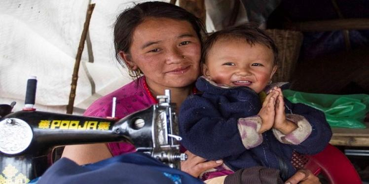 Sewing together a new life after the Nepal earthquake