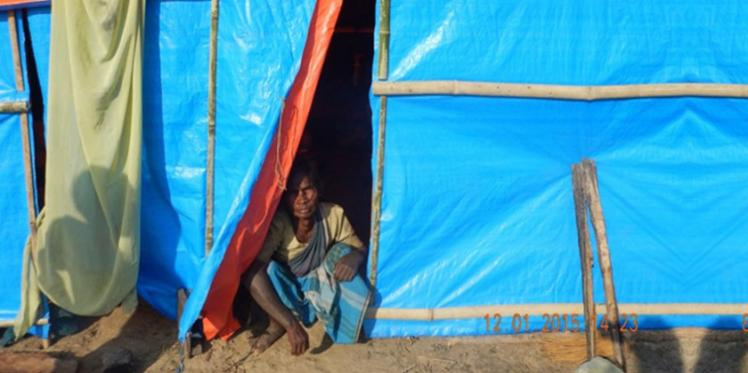 Sheltering safety and privacy for displaced people in Assam