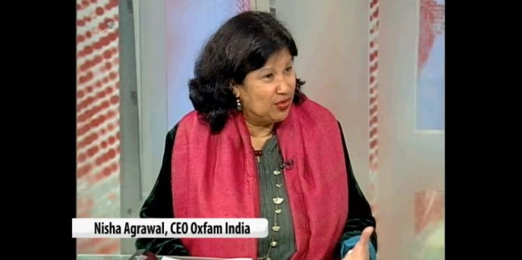 Oxfam India CEO Nisha Agrawal talks about the inequality report to NDTV