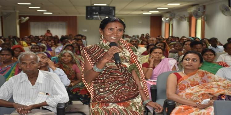 Women farmers come together for state level meet in Bihar to discuss land rights