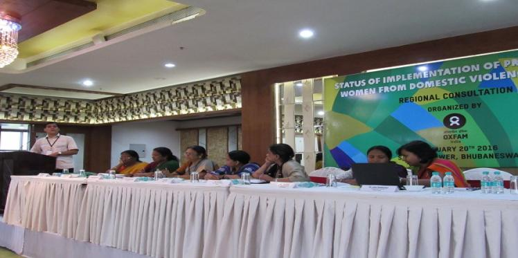 Odisha Hosts Regional Consultation on Protection of Women from Domestic Violence Act