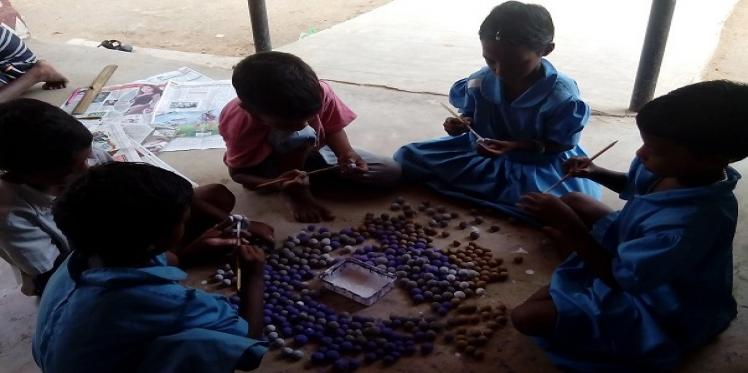 Get smart: Children in Odisha use creative learning techniques to improve quality of education