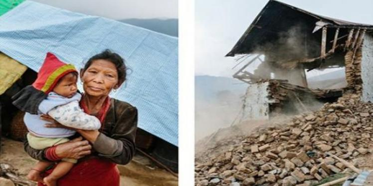 """We have no toilets and we worry about diseases"", says Nepal earthquake survivor"