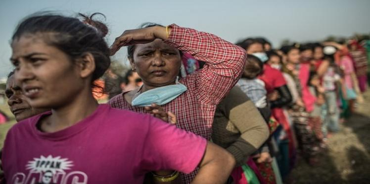 Women are living in fear for their safety three months on from Nepal earthquake, Oxfam says