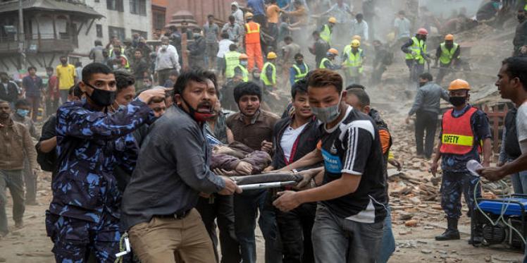 Massive earthquake hits Nepal, parts of India
