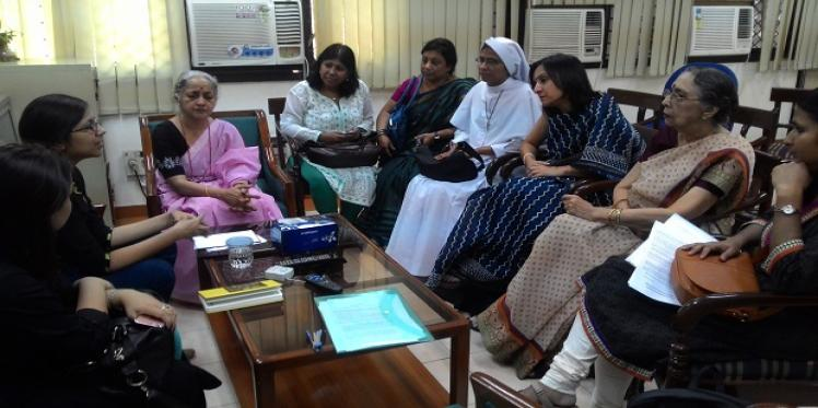 A meeting on Women's Reservation Bill
