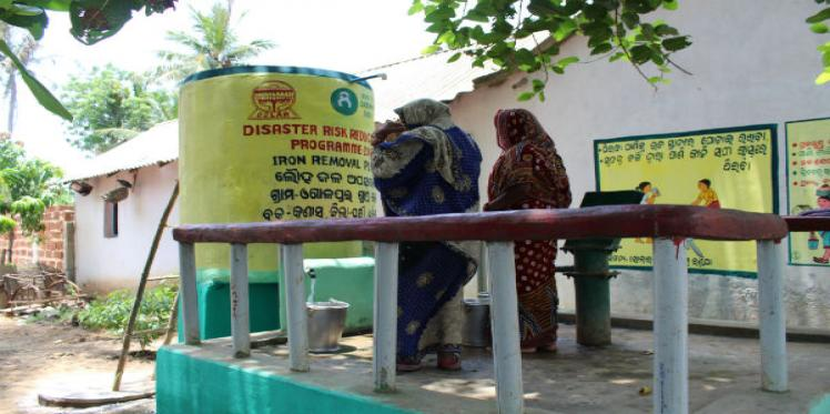 Providing Safe Drinking Water in Flood-Prone Districts of Odisha