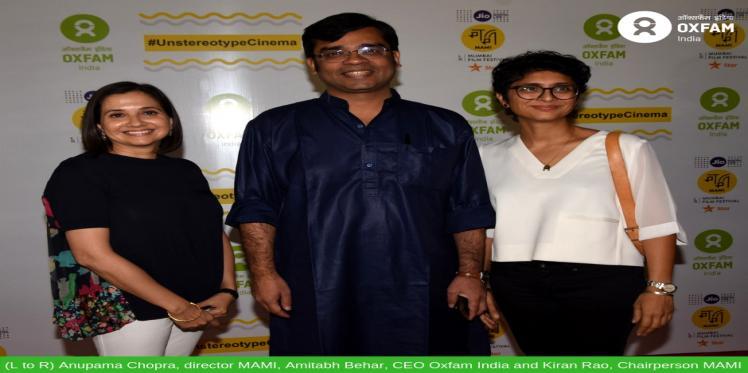 Oxfam India and JIO MAMI Mumbai Film Festival