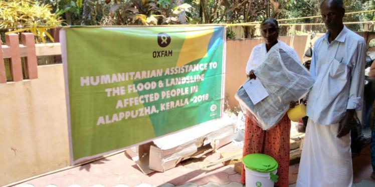 Oxfam India's Humanitarian work in Kerala
