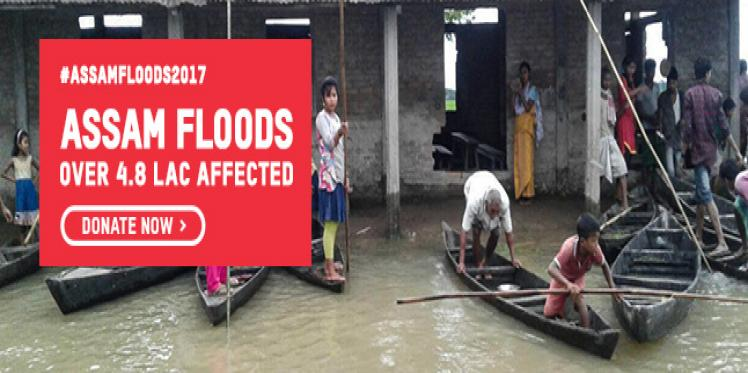 Oxfam is responding in Assam Floods 2017