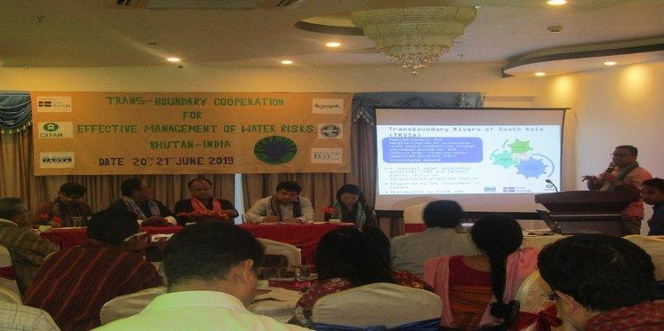 Consultation on Trans-Boundary Cooperation for Effective Management of Water Risks, Bhutan - India