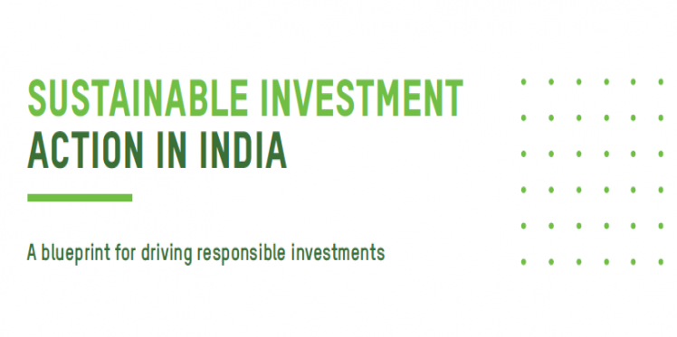 Sustainable Investment Action In India