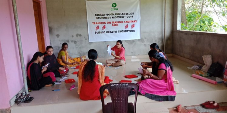 Training in progress in Kerala