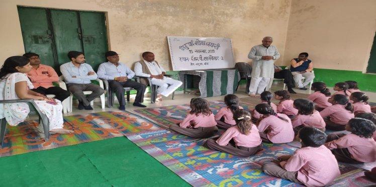 Pramod Dixit in his classroom
