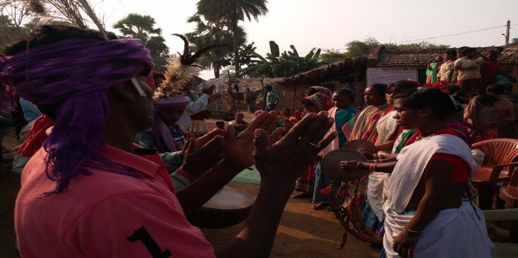 Traditional Dance of Pahariya Community PVTG in Sunderpahari