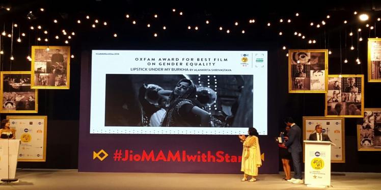Oxfam Best Film on Gender Equality Award Gets Grand Reception