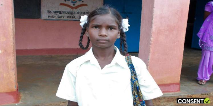 Oxfam India and Leads track out of school children and send them back to school.