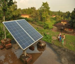 Providing Renewable Energy for Home Lighting in Remote Villages of Jharkhand