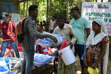 Oxfam India responds to natural disasters